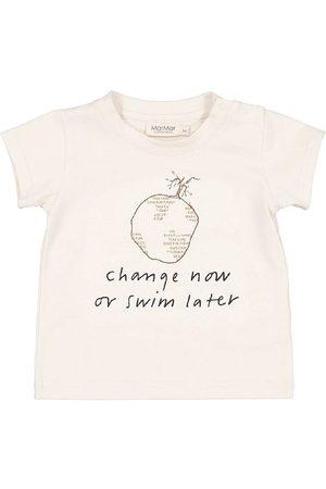 MarMar Kortærmede - T-shirt - Charity - Off White m. Print