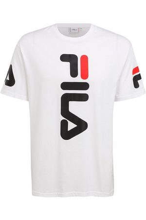Fila Kortærmede - T-Shirt - Allan - Bright White m. Logo
