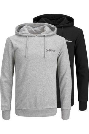 jack & jones 2-pak Fleece Hoodie Mænd