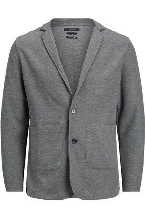 "JACK & JONES Blazer Cardigan Sweatshirt Mænd Brown"",""Grey"