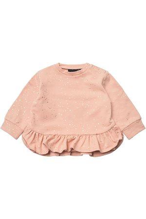 PETIT by Sofie Schnoor Sweatshirts - Sweatshirt - Light Rose m. Prikker