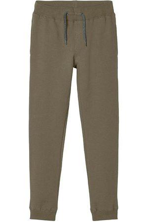 NAME IT Joggingbukser - Sweatpants - Noos - NkmSweat - Stone Gray