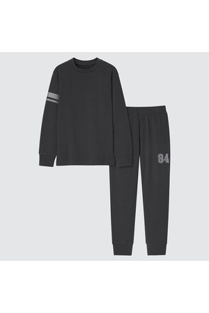 UNIQLO Pyjamas - KIDS Ultra Stretch Sweat Long Sleeved Set