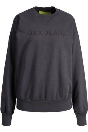 """jack & jones Jxdee Loose Sweatshirt Kvinder Brown"""",""""Grey"""
