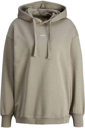 "JACK & JONES Mænd Sweatshirts - Jxcleo Sweatshirt Hoodie Kvinder "",""Brown"