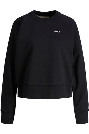 """jack & jones Mænd Sweatshirts - Jxcaitlyn Økologisk Bomuld Sweatshirt Kvinder Black"""",""""Brown"""