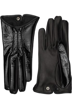 MARIO PORTOLANO Vernice & Nappa Leather Gloves