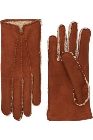 MARIO PORTOLANO Shearling Gloves