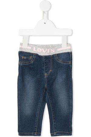 Levi's Kids Baby Jeans - Jeans med elastik og logobånd