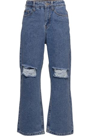 Grunt Wide Leg Authentic Rippede Blue Jeans
