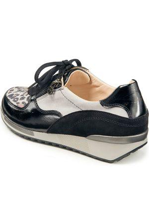 Basler Sneakers Jule i ægte skind Fra sort