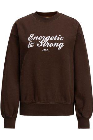 JACK & JONES Jxbeatrice Logo Sweatshirt Kvinder