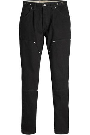 """JACK & JONES Jxjenny Rivetted Loose Fit Jeans Kvinder Black"""",""""Brown"""