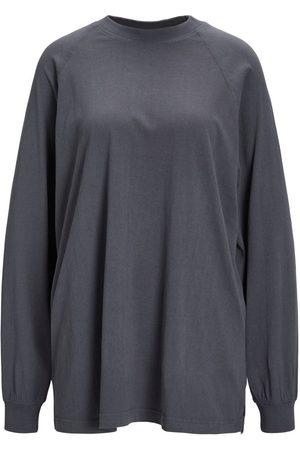 """JACK & JONES Mænd Sweatshirts - Jxdrew Oversize Sweatshirt Kvinder Brown"""",""""Grey"""
