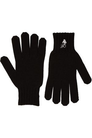 OFF-WHITE Hand Off Embroidered Wool Gloves
