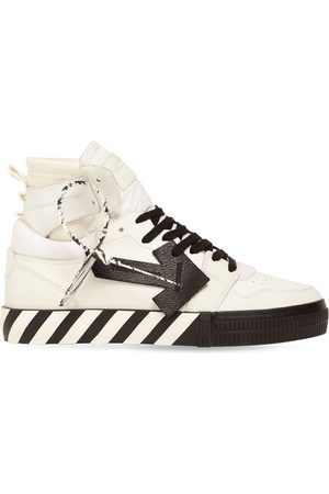 OFF-WHITE Mænd Sneakers - Vulcanized High Top Leather Sneakers
