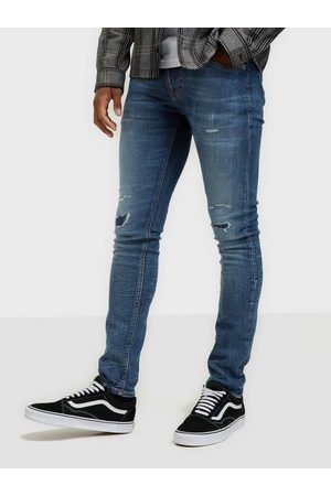 Nudie Jeans Tight Terry Mended Heart Jeans Indigo