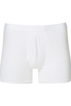 DEREK ROSE Pima Cotton Stretch Trunk White