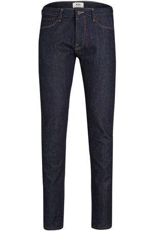 """JACK & JONES Glenn Rdd R257 Selvedge Slim Fit Jeans Mænd Blue"""",""""Brown"""