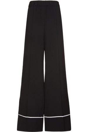 OFF-WHITE Light Wool Flared Pants
