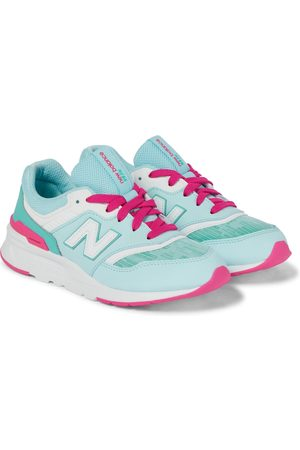 New Balance Kids 997 leather sneakers