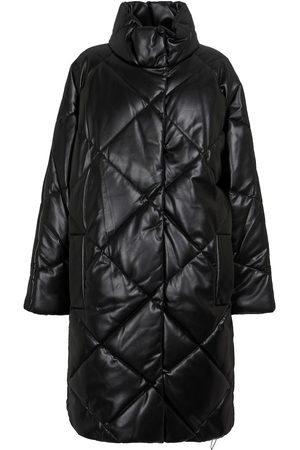 Stand Studio Anissa quilted faux leather coat