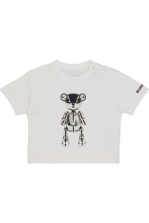 Burberry Kortærmede - Baby printed cotton T-shirt