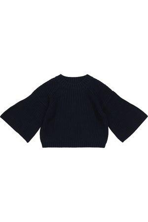 Il Gufo Piger Strik - Cotton crewneck sweater