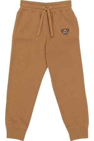 Burberry Kids Thomas Bear cashmere-blend sweatpants