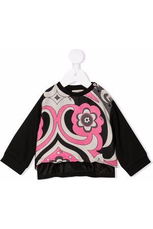 Emilio Pucci Junior Abstract-Print jacquard sweatshirt