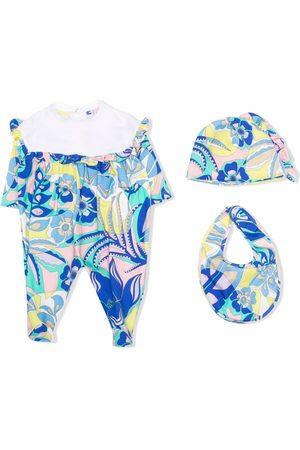 Emilio Pucci Junior Baby Babysæt - Samoa Print pajama set