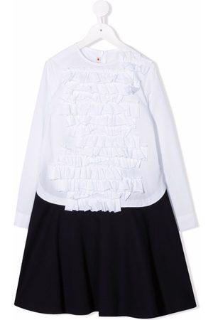Marni Piger Kjoler - Skjortekjole med flæser