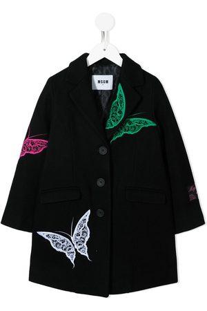 MSGM Kids Piger Vinterfrakker - TEEN enkeltradet frakke