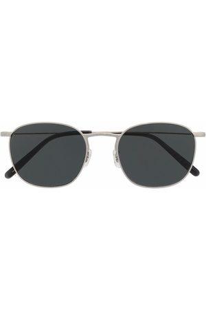 Oliver Peoples Solbriller - Firkantede Goldsen solbriller med tonet glas