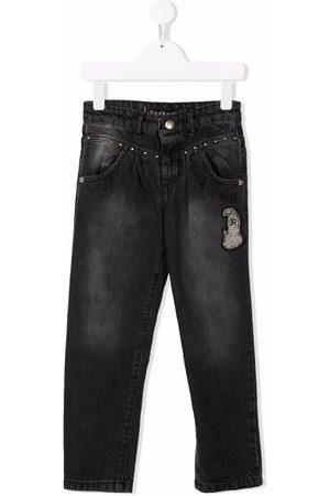 John Richmond Junior Piger Jeans - Jeans med logomærke
