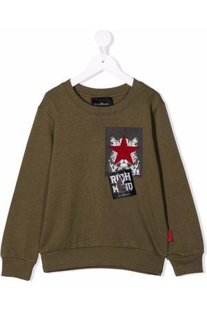 John Richmond Junior Drenge Sweatshirts - Sweatshirt med mærke-detalje