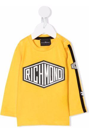 John Richmond Junior Baby Kortærmede - T-shirt med lange ærmer og logotryk