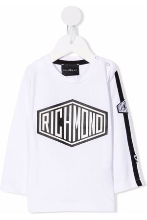 John Richmond Junior Baby Langærmede - Logo-print long-sleeve T-shirt