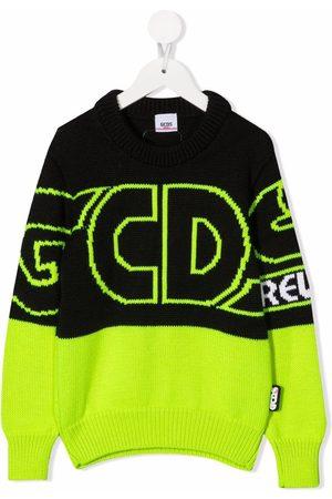 Gcds Kids Tofarvet trøje med logotryk