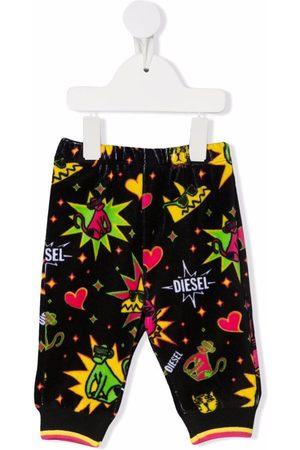 Diesel Kids Graphic-print trousers