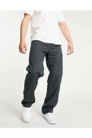 Carhartt WIP Simple - Grønne afslappede bukser med lige pasform