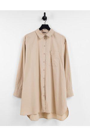 Envii Calathea - Oversized skjorte-Hvid