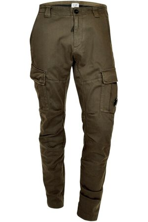 C.P. Company Mænd Cargo bukser - Stretch Garment Dyed Cargo Pants