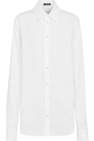 Ann Demeulemeester Alla cotton poplin shirt
