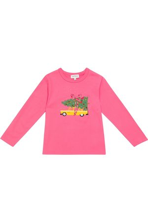 The Marc Jacobs Kids Long-sleeved cotton T-shirt