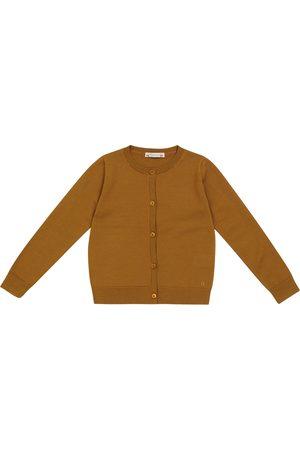 Bonpoint Piger Strik - Wool knit cardigan