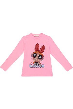 Monnalisa Piger Sweatshirts - Powerpuff Girls embellished sweatshirt