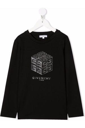 Givenchy Kids Drenge Kortærmede - T-shirt med logotryk