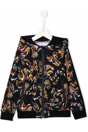 Givenchy Kids Drenge Hoodies - Hættetrøje med heldækkende logotryk