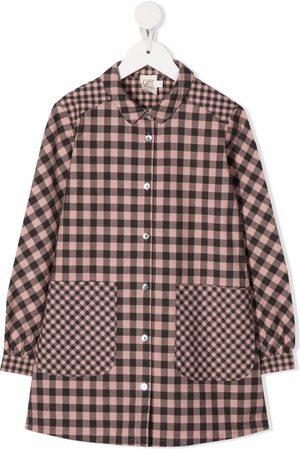 Caffe' D'orzo Piger Langærmede skjorter - Gingham-ternet skjorte